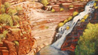 Fortesque Falls,  2010