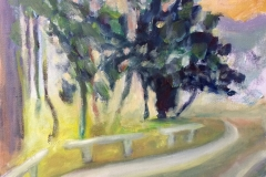 The Turn, en plein air, 2017