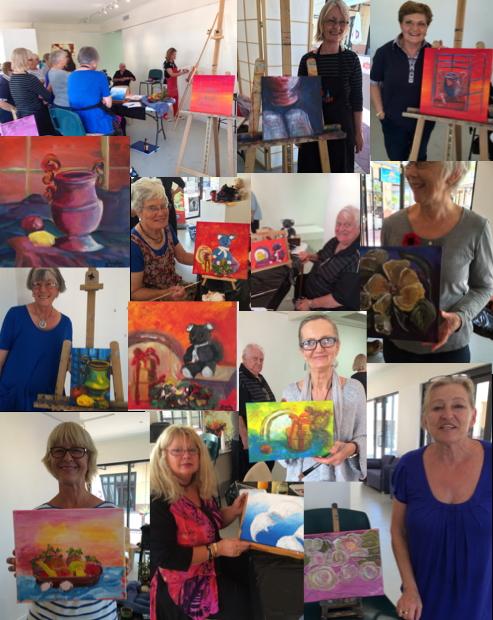 Seniors Art Class