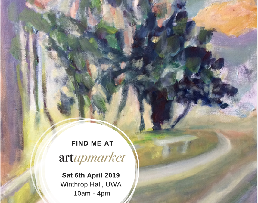Perth Art UpMarket April 6 UWA Winthrop Hall